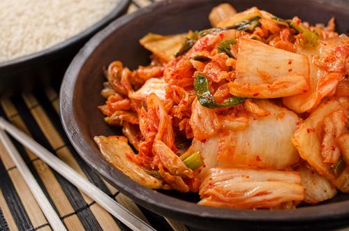 Receta de kimchi vegetariano