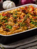 Receta de arroz al horno con verduras