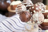cake pops con brownie