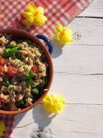 Receta de ensalada de arroz integral