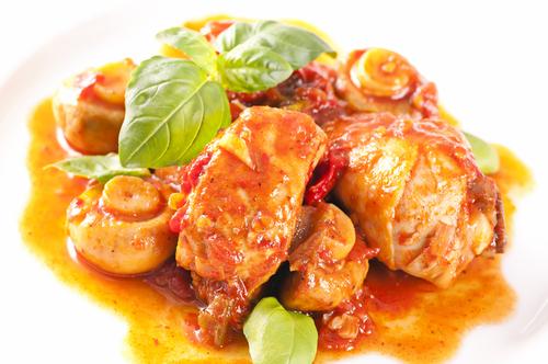 Receta de pollo en salsa thermomix