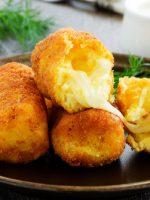 Receta de croquetas de pollo y queso