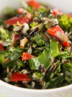 Receta de ensalada de arroz salvaje