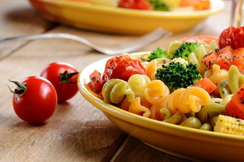 Receta de ensalada de pasta con pollo