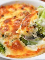 Receta de brócoli con queso