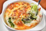 brocoli con queso