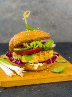 Receta de hamburguesa de soya