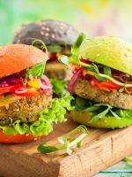 Receta de hamburguesa de verduras