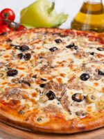Receta de pizza de anchoas