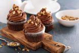 cupcakes de chocolate sin azucar