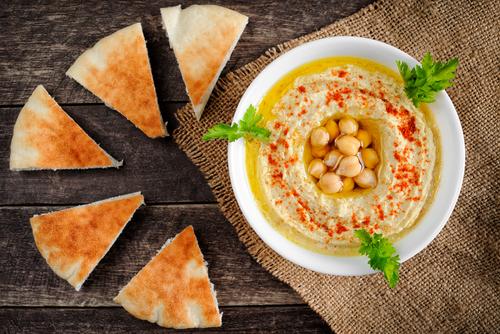 Receta de hummus con tahini