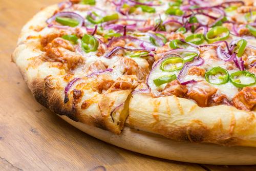 Receta de pizza de pollo