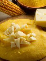 Receta de polenta con queso