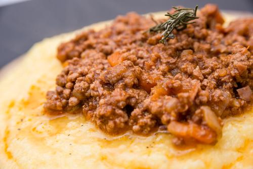 Receta de polenta con tuco