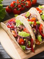 Receta de tacos vegetarianos