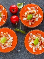 Receta de salmorejo de melón