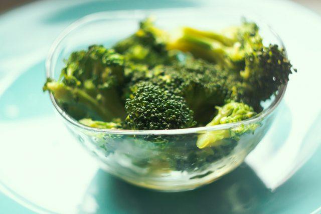 Receta de brócoli al vapor