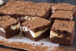 brownie de queso