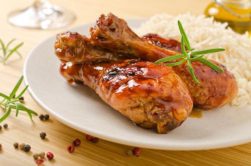 Receta de pollo al horno a la miel
