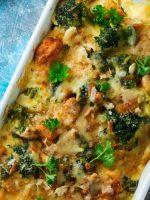 Receta de brócoli con bechamel