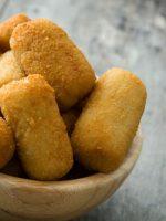 Receta de croquetas de pollo y espinacas