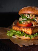 Receta de hamburguesa de tofu
