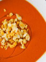 Receta de salmorejo de naranja