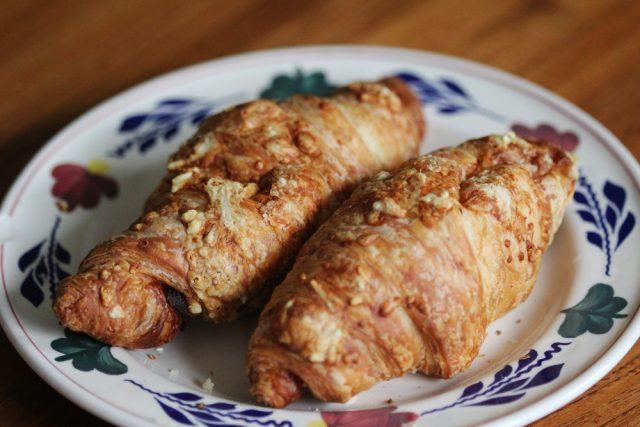 Receta de croissant relleno