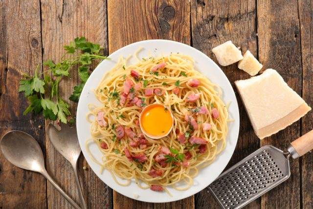 Receta de salsa carbonara sin huevo
