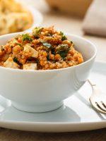 Receta de quinoa con queso