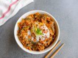 arroz salteado con kimchi