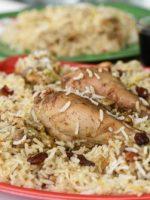 Receta de arroz blanco con pollo