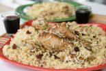 arroz blanco con pollo