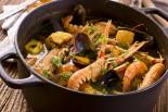 sopa de marisco con pescado