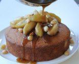 Receta de bizcocho de manzana y nueces
