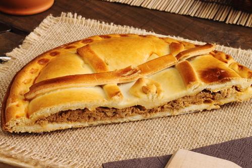 Receta de empanada gallega de carne