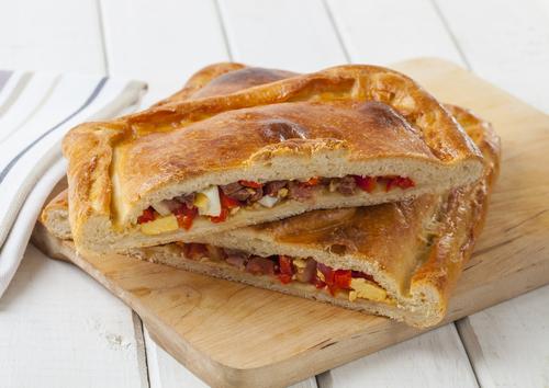 Receta de empanada gallega de verduras