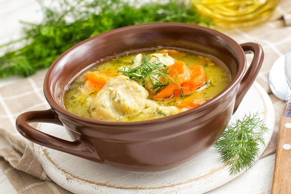 Receta de sopa de pollo thermomix