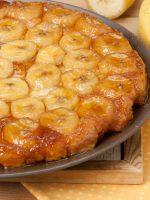 Receta de tarta tatin de plátano