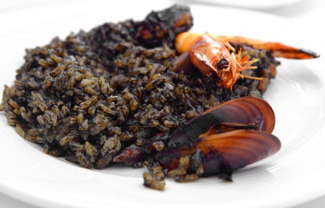 Receta de arroz negro thermomix