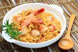 arroz con bogavante y sepia