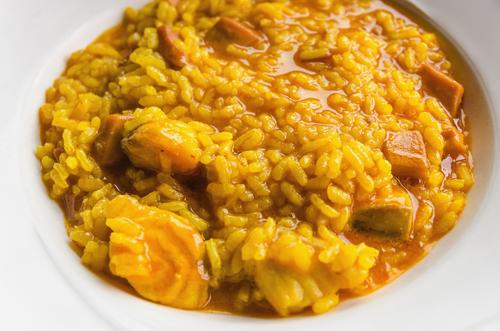 Receta de arroz con pollo y conejo