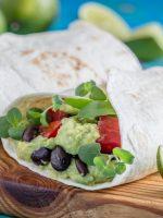 Receta de fajitas con guacamole