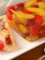 Receta de gelatina de frutas