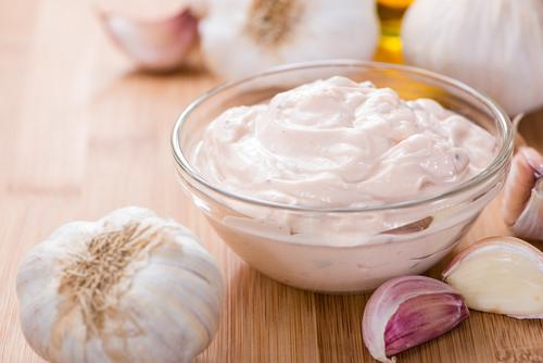 Receta de mayonesa de ajo