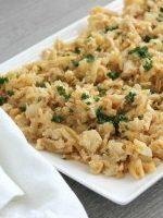 Receta de migas con patatas