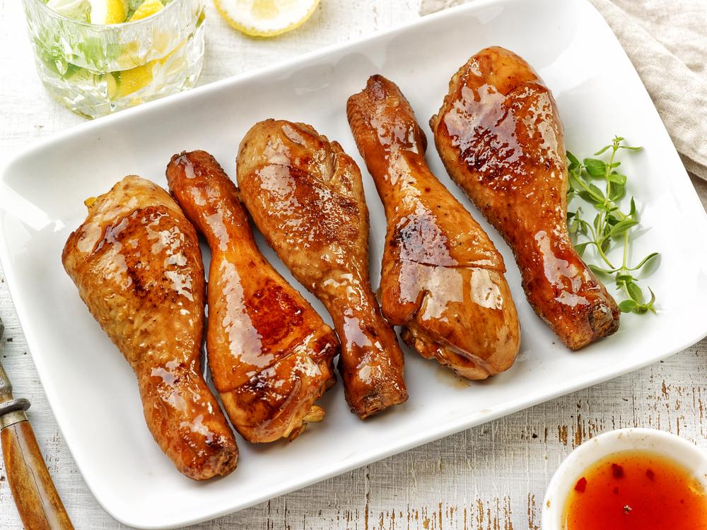 Receta de muslos de pollo al horno con salsa agridulce for Muslos pollo en salsa