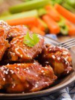 Receta de alitas de pollo al horno con miel