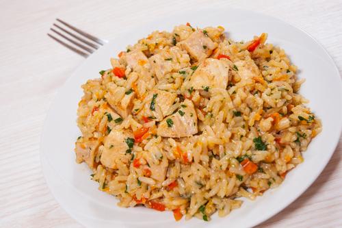 como hacer arroz con pollo colombiano