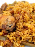 Receta de arroz con pollo y costillas